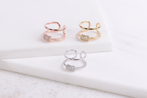 Blaire Crystal Ring Wholesale