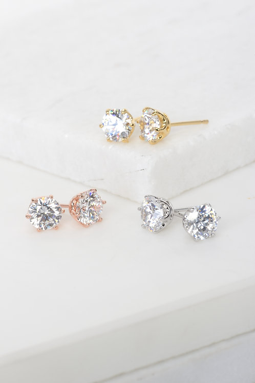 Erica Crystal Stone Earrings