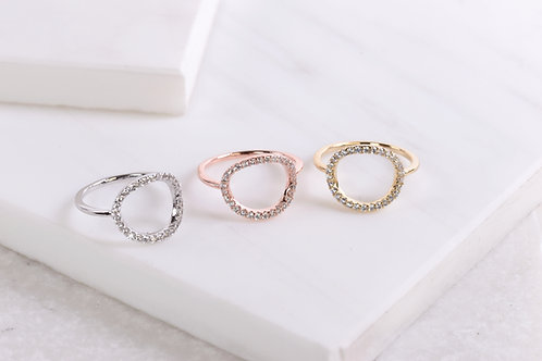 Kayla Circle Ring Wholesale