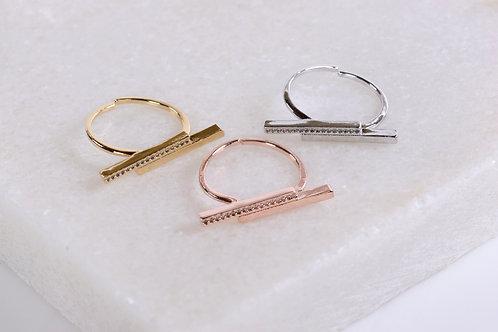 Skylar Double Bar Ring