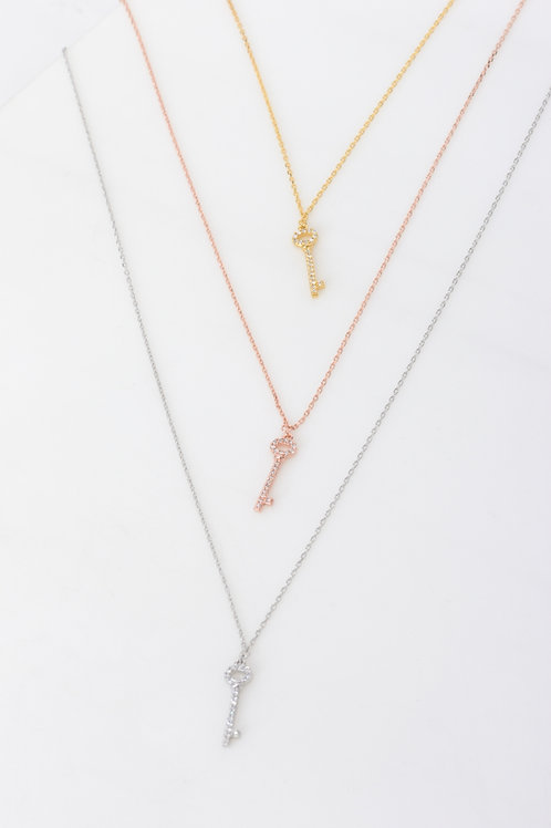 Christina Key Necklace Wholesale