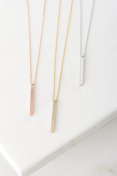 Melanie Vertical Bar Necklace Wholesale