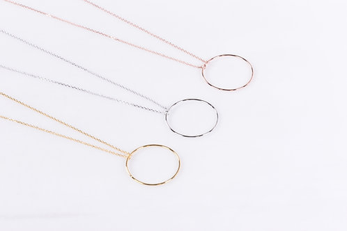 Circle Hole Necklace