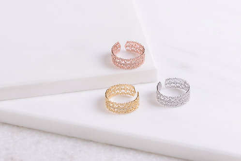 Paige Lace Ring