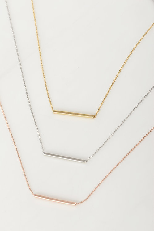 Naomi Horizontal Bar Necklace Wholesale