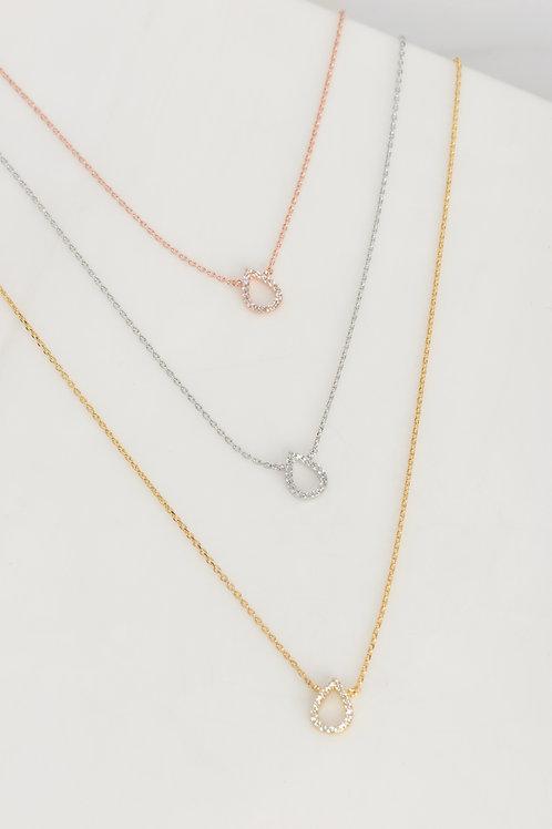 Livia Tear Drop Necklace Wholesale