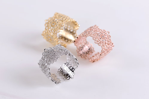 Evelyn Lace Ring
