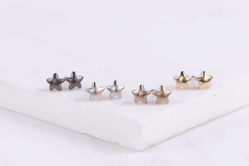 Tiny Star Stud Earrings Wholesale
