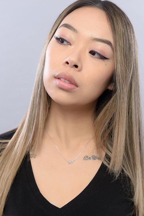 Olivia Leaf Necklace