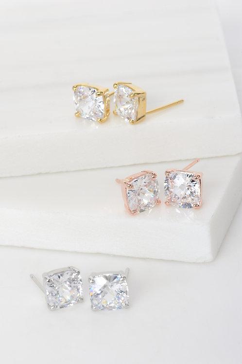 Serena Crystal Stone Earrings