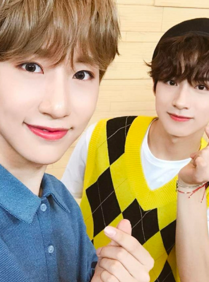 ONEUS's Xion and ONEWE's Dongmyeong: Twin Brothers Who Debuted Under the Same Agency