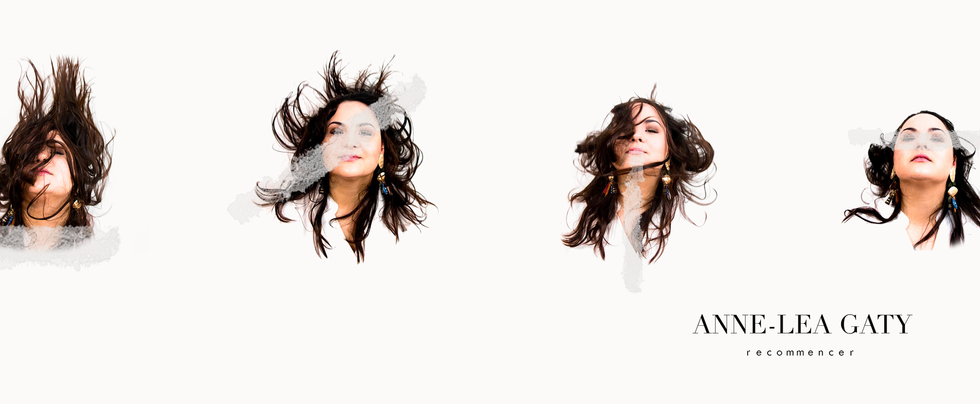 Anne-Léa Gaty, shooting pour artwork + album cover