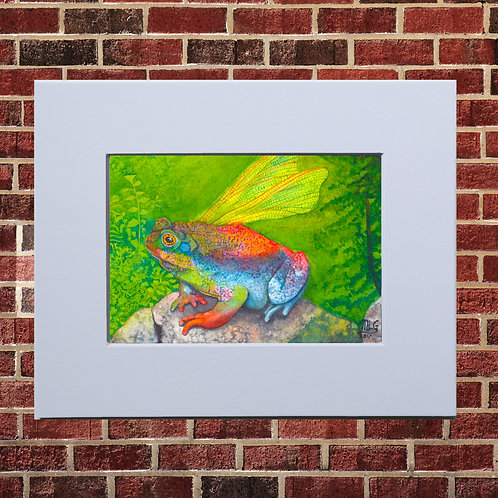 Froggy Wings Print