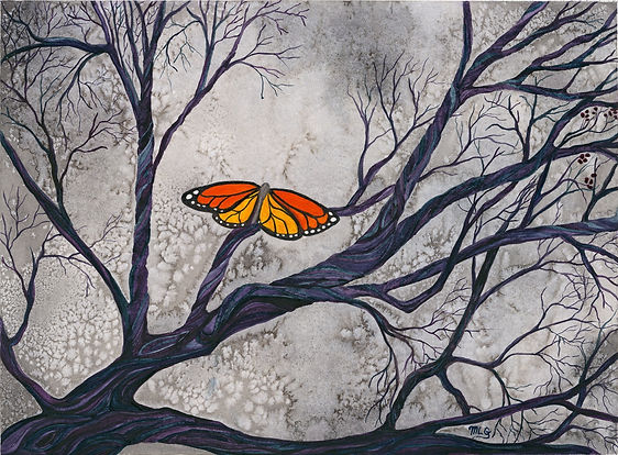 Watercolor Art, Butterfly