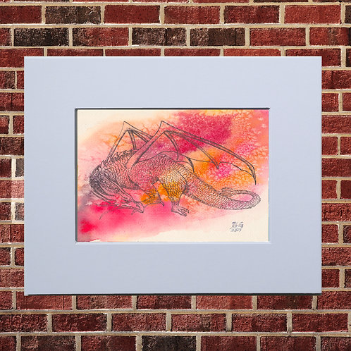 Red Dragon Print