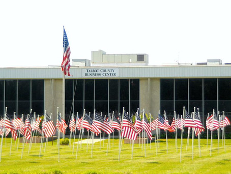 Flags for Heroes All Over Town