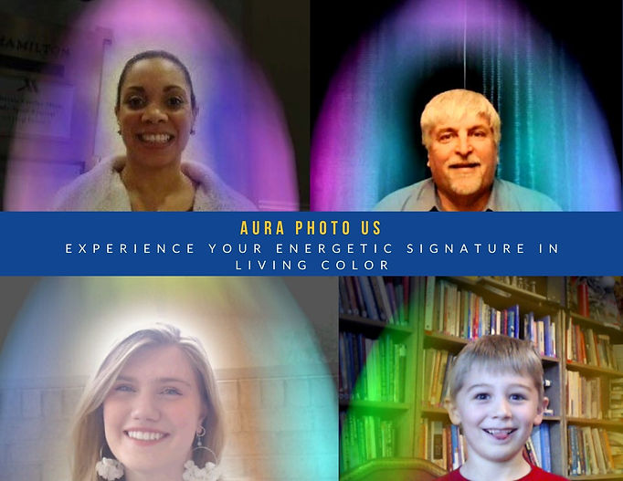 Examples of Aura Photography