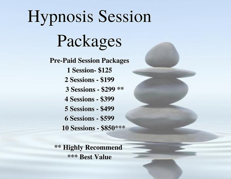 Session Price List