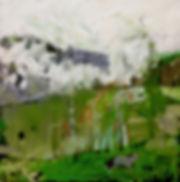 landscape contemporary art absract oil landscape beautiful