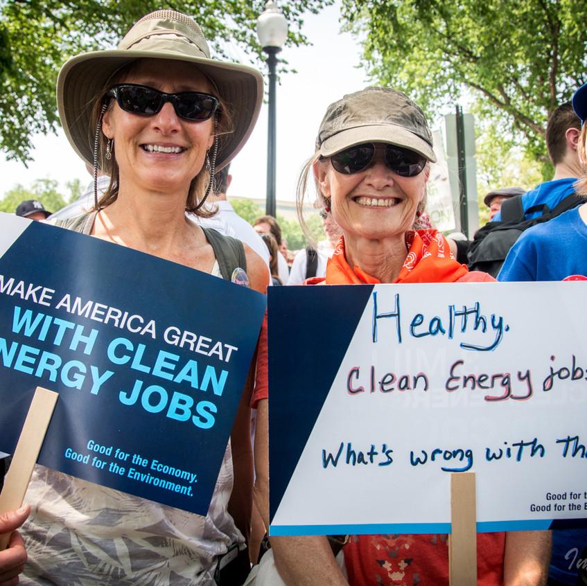 E2 Advocates in Climate March