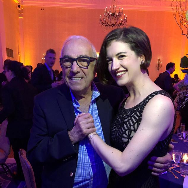 With Bob Avian
