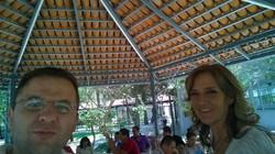 Afilando el hacha, Sandalias, Aztlán