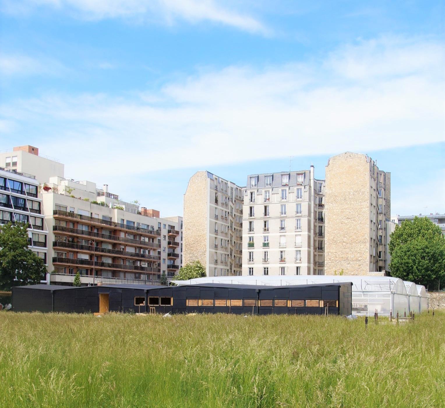 ferme urbaine Paris - Charonne