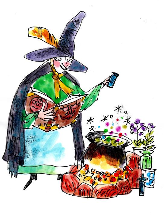 Madam Rana makes a spell