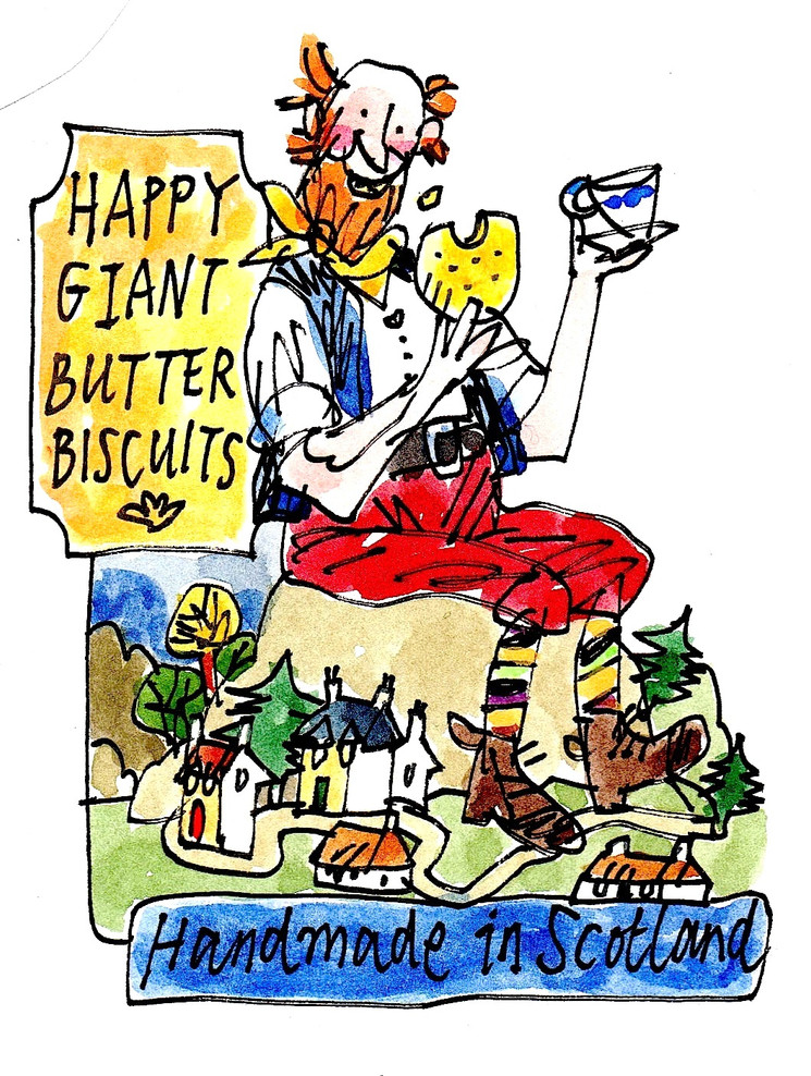 Happy Giant butter biscuits