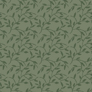 RF5520604 DOTTED LEAVES GREEN