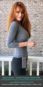 Allison Santini wearing MyPhonePouch.jpg