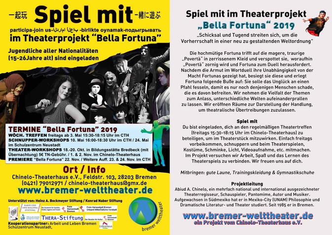 Theaterprojekt für junge Menschen