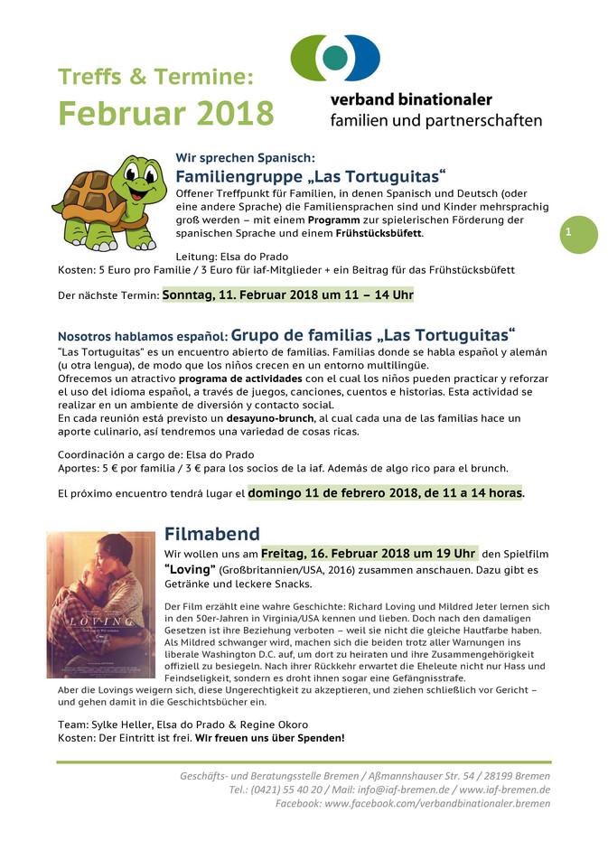 Angebote vom Verband binationaler Familien