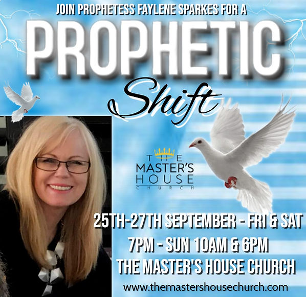 Copy of PROPHETIC SHIFT CHURCH FLYER TEM