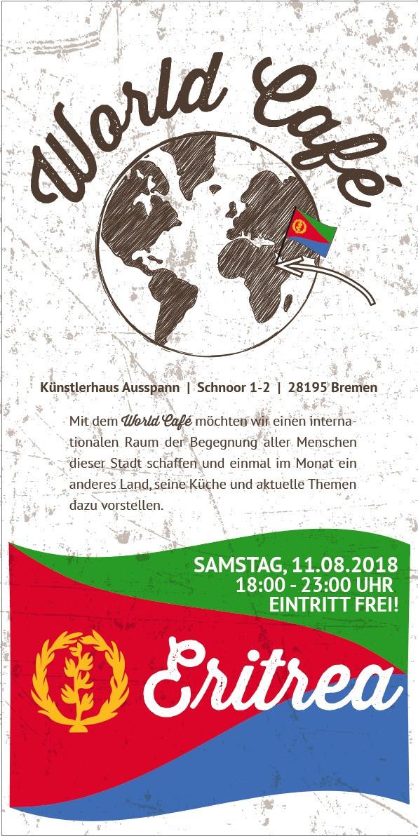 World Café Eritrea: 11. August 2018