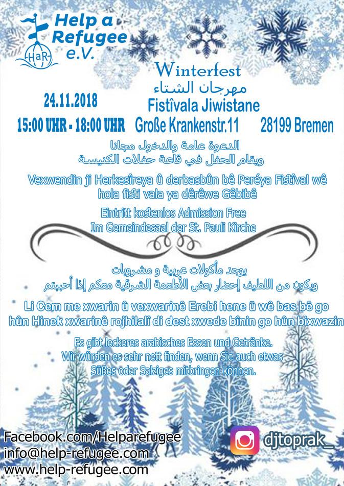Einladung zum Winterfest