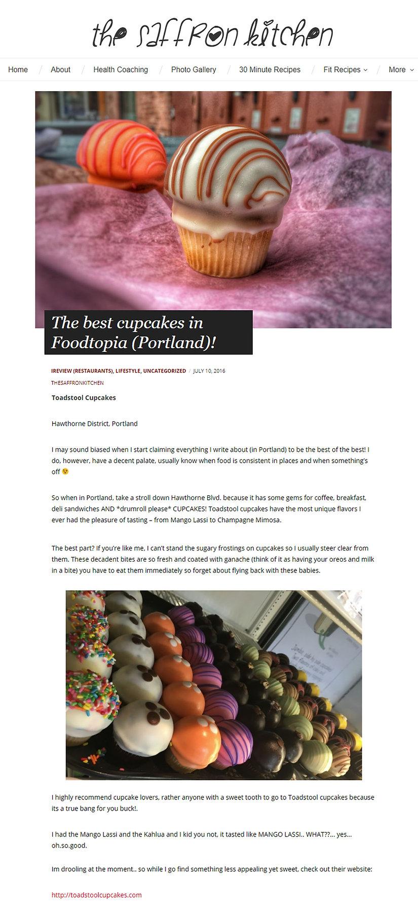 best cupcakes in Portland, Oregon