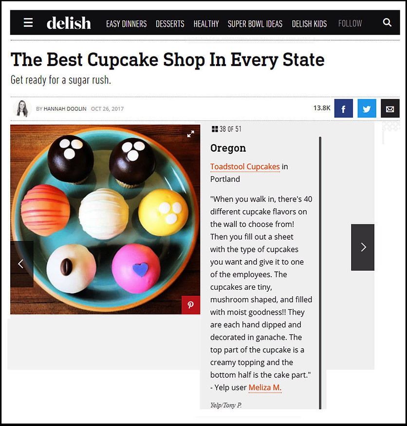 best cupcakes in oregon toadstools