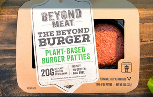A PLANT-BASED BURGER THAT LOOKS, COOKS, & EVEN BLEEDS LIKE REAL MEAT--REALLY?