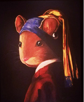 Mouse with a Pearl Earring