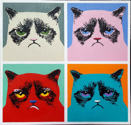 Grumpy Warhol