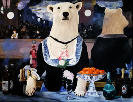 A Bear at the Folies Bergeres