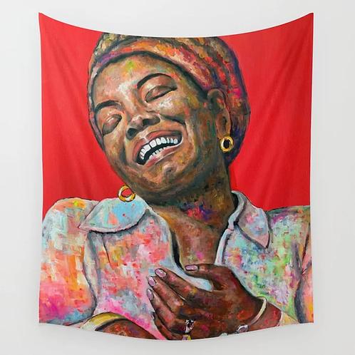Maya Angelou Tapestry