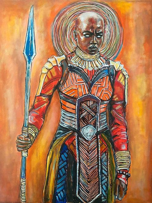 Okoye Wakanda Art Print