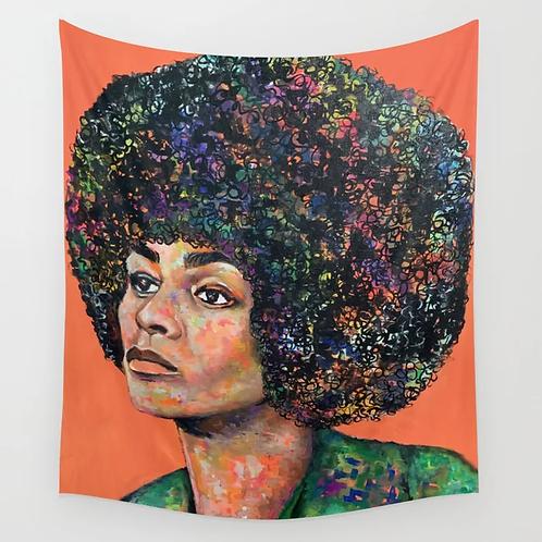 Angela Davis Tapestry