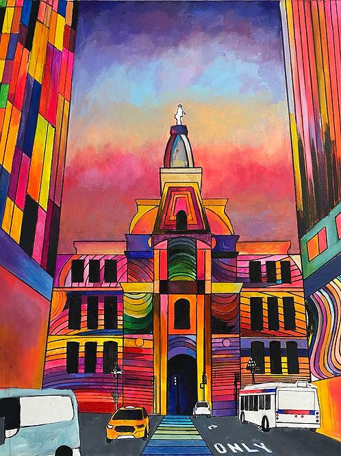City Hall 24 x 30 Original