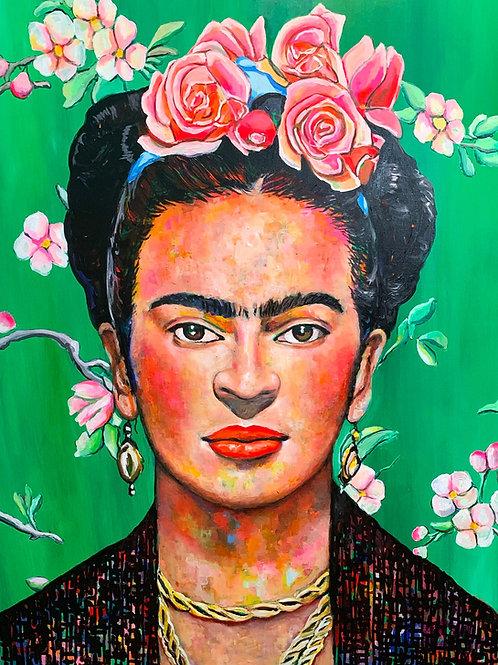 Frida No. 8 Art Print