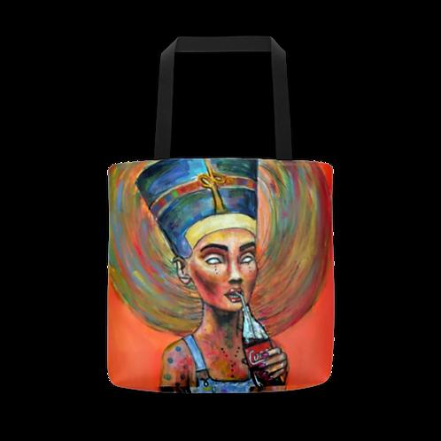 Ordinary Nefertiti  All Over Tote Bag