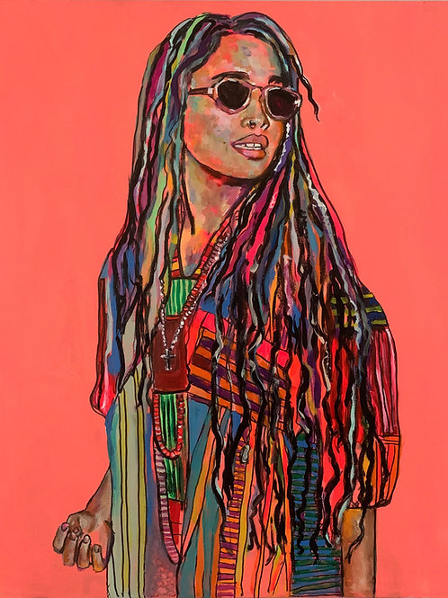 Lisa Bonet Art Print