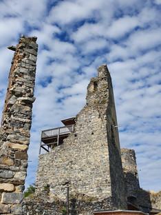 Ruine Senftenberg im Juli 2021